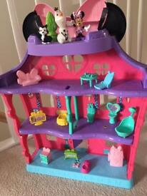 Minnie's Mouse house fisher price