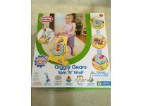 Brand new Little tikes spin stroll giggly gears walker toy baby