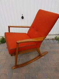 Parker knoll rocking chair .