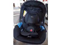 Silvercar car seat from birth