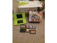 Lime green Nintendo ds lite boxed