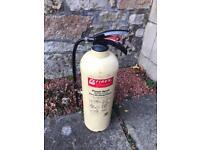 Vintage foam fire extinguisher