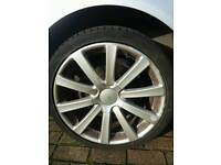 "Audi 19"" alloy n tyre wanted"