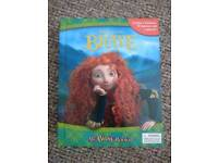 Disney Brave, story book with toys and play mat. Possible collectors item