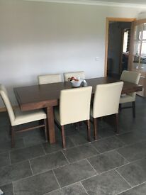 Dining Table/Chairs/Sideboard