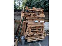 FREE WOOD, PLANKS AND BOARDS