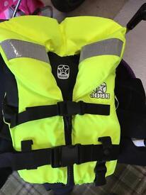 Life jackets as new kids JOBE