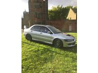 Mitsubishi Evo 8 FQ330 Remapped @360Bhp. Full RalliArt Service Excellent Condition