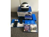 PS4 PlayStation PSVR Headset Bundle