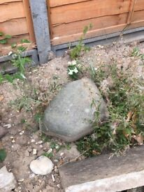 Decorative garden stones - range of sizes