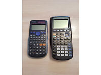 Graphing and Scientific Calculator Bundle (£40)