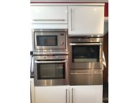 AEG INTEGRATED OVEN & MATCHING MICROWAVE