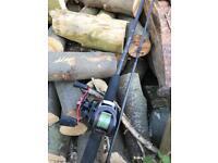 Free spirit pike tamer 30-120g jerk bait set up! Fishing combo