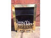 SOLID BRASS GAS FIRE