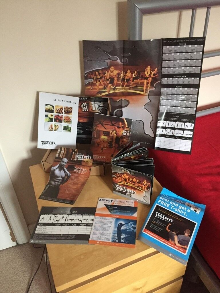Insanity workout set BRAND NEW | in Swindon, Wiltshire | Gumtree
