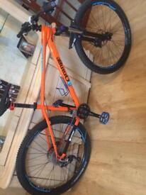Orange clockwork 120 mountain bike