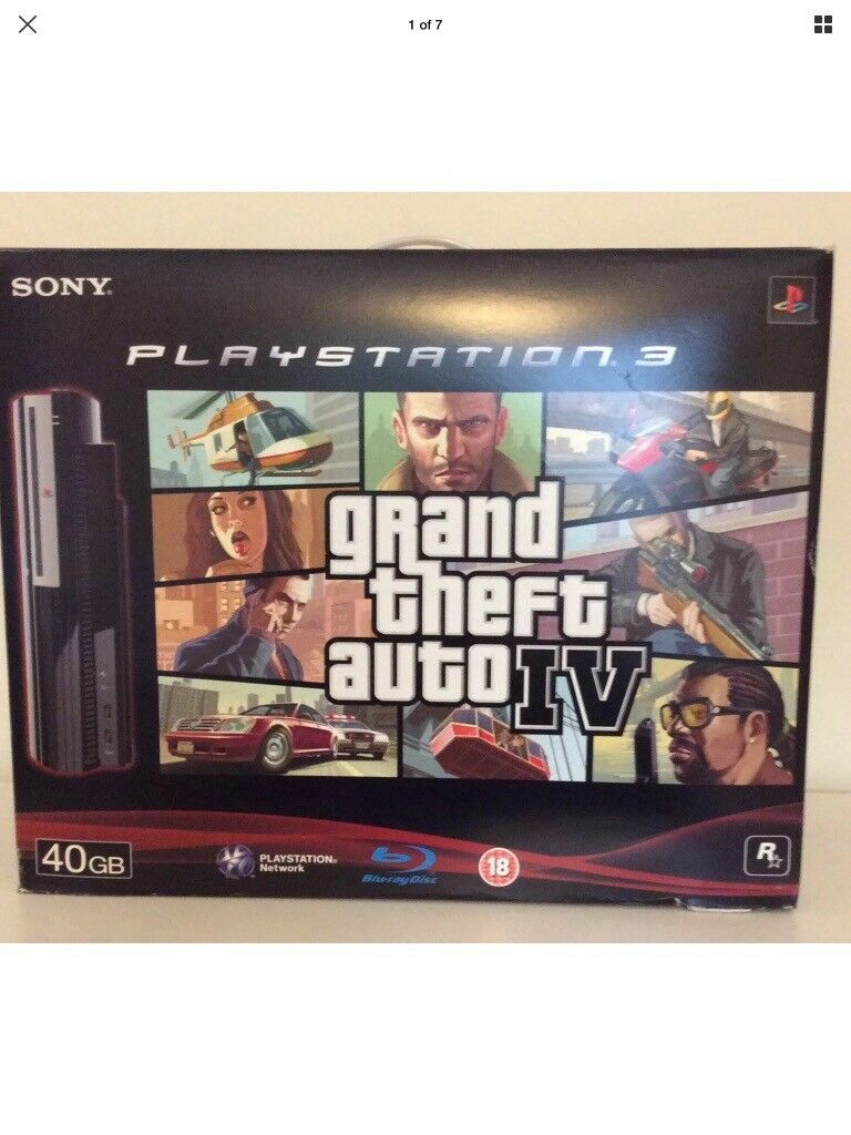 PLAYSTATION 3 GRAND THEFT AUTO IV BUNDLE