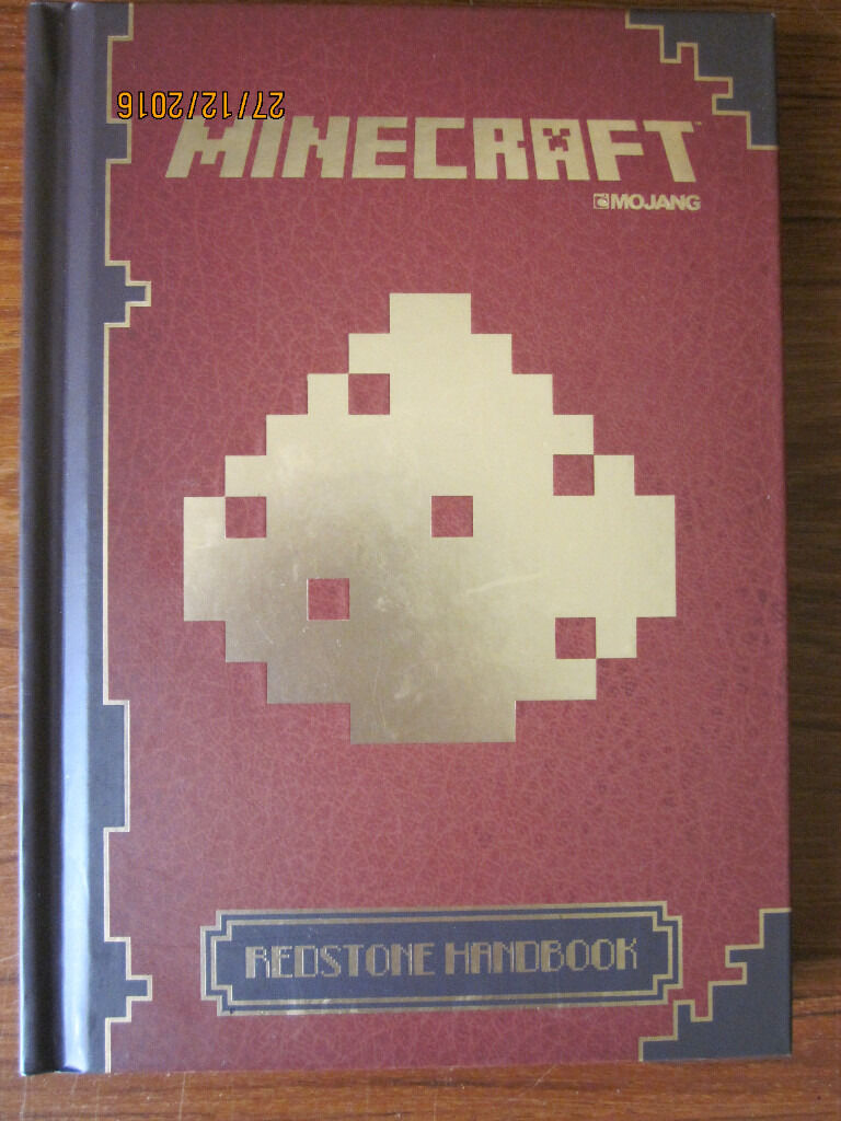 Minecraft Redstone Handbook (hardbackin Sleaford, LincolnshireGumtree - Minecraft Redstone Handbook hardback edition published by Egmont UK Ltd. Everything you need to know to get connected to the electrifying possibilities of Redstone. ISBN 9781405268400. RRP £7.99. In excellent condition and from a pet & smoke free...
