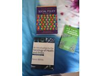 Health and social care, social policy community work