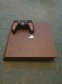 Black Sony playstation 4 1TB