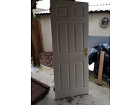 10 Internal doors, 6 panel. Good condition. See sizes in description. £10 each or all 10 for £50.