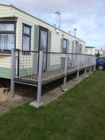 caravan to rent ingoldmells 2 bedroomed 13th to 20th may