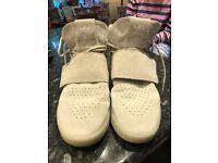 Adidas White Tubular Invader Shoes