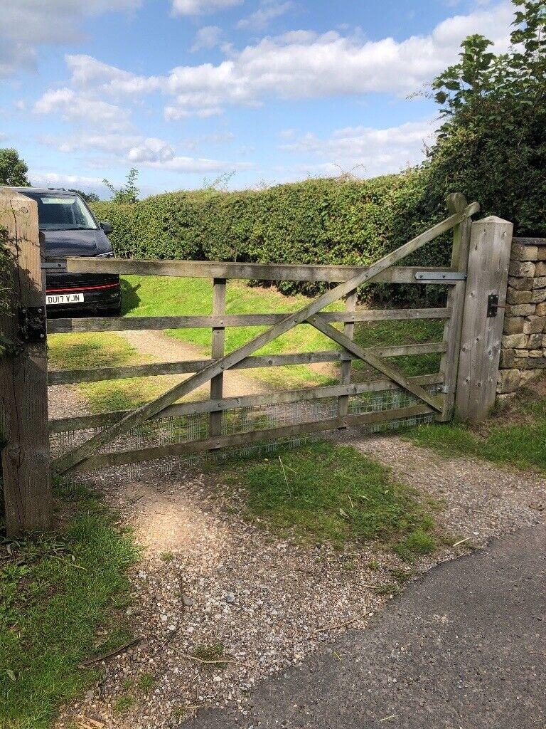 Pair Of Wooden 5 Bar Farm Gates In Mansfield Nottinghamshire Gumtree