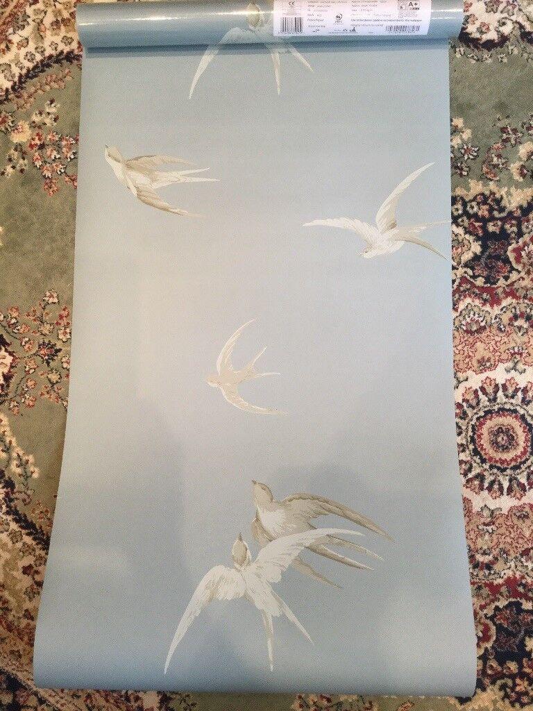 Sanderson Wallpaper - Swallows