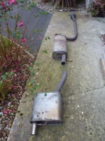 Ford Focus Mk1 1.6 Catalyst or catalytic converter exhaust low mileage