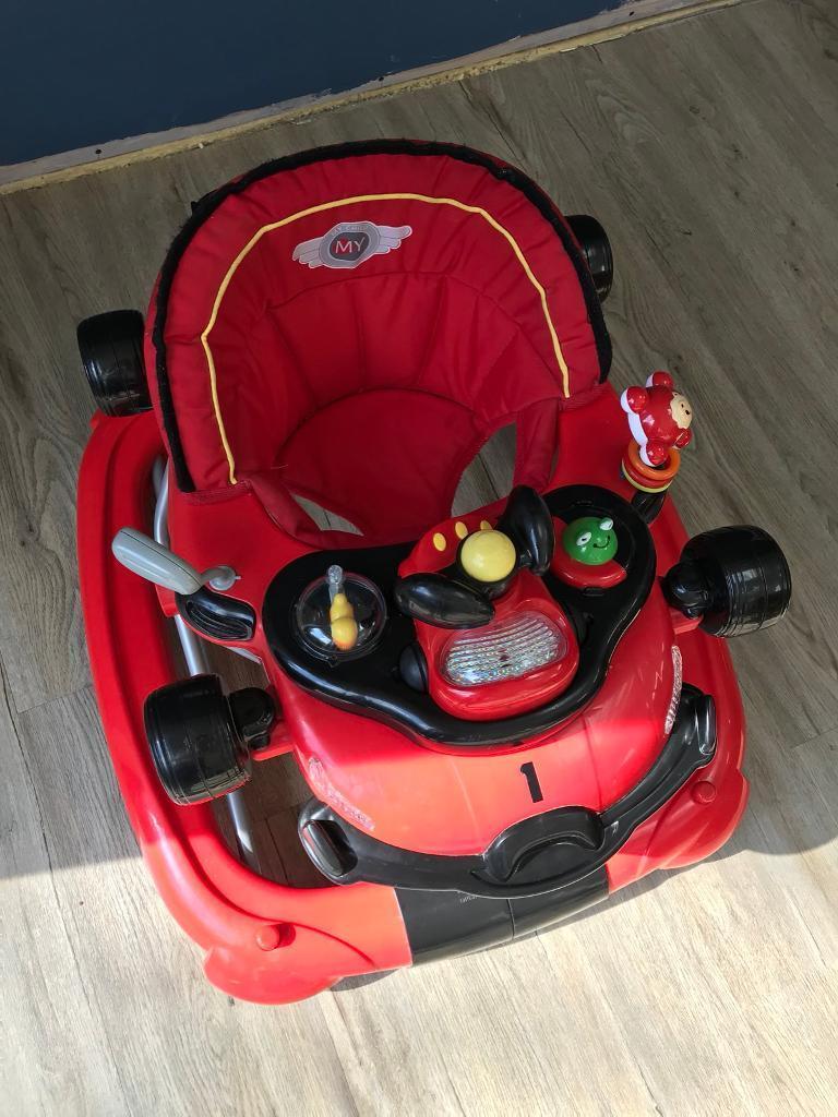 Baby Racing Car Walker Rocker