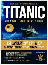 Plymouth next Titanic exhibition