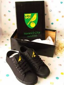 Norwich City Boys Casual Shoes - Brand New
