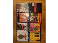 Set of Tarantino Blu Rays