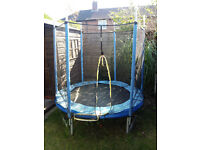 6ft Trampolines with Enclosure