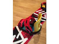 Snowboard bindings SWITCHBACK