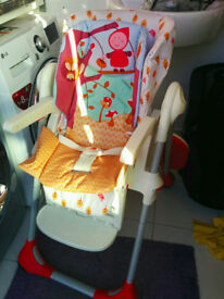 Highchair: Chicco Polly Highchair in Happyland