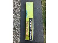 'JUMP KING' trampoline ladder and tie down kit - unused