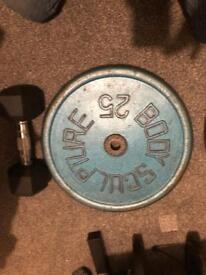 2 x 25kg standard plates