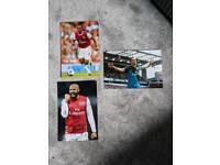 Signed Arsenal Photos