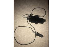 Brodit iPhone 5s in car holder and charger