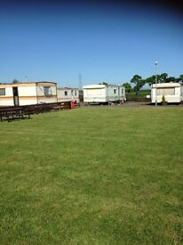 Available straight away long let caravan