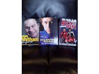 3 motorcycle biography hardback books for sale.