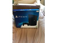 PS4 PRO 1TB - Brand new unopened