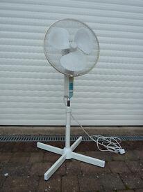OSCILLATING ELECTRIC FAN £20