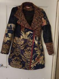 Jo brown jacket size 12