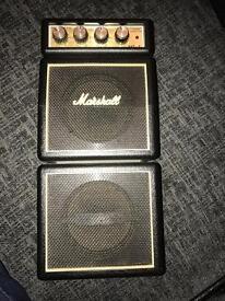 Marshall MS 4. Mini Marshall stack amp.