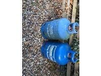 2 Calor Gas Butane Bottles 15KG