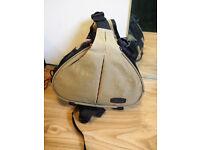 Unused camera sling bag