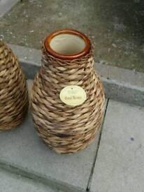 Hand woven designer vases